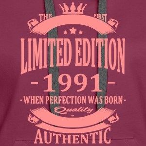 Limited Edition 1991 Hoodies & Sweatshirts - Women's Premium Hoodie