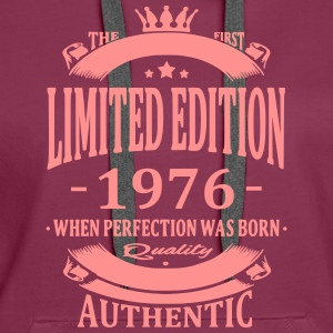 Limited Edition 1976 Hoodies & Sweatshirts - Women's Premium Hoodie