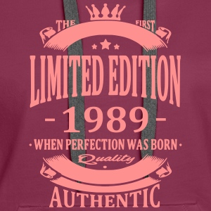 Limited Edition 1989 Hoodies & Sweatshirts - Women's Premium Hoodie