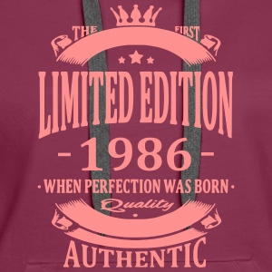 Limited Edition 1986 Hoodies & Sweatshirts - Women's Premium Hoodie