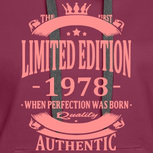 Limited Edition 1978 Hoodies & Sweatshirts - Women's Premium Hoodie