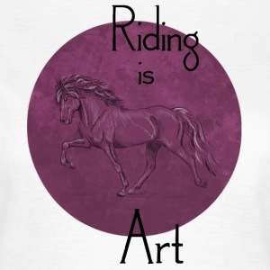Tölter Art Purple T-Shirts - Frauen T-Shirt