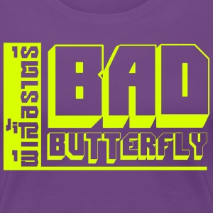 BAD BUTTERFLY T-Shirts - Women's Premium T-Shirt