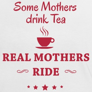 Some Mothers drink Tea-- ride T-skjorter - Kontrast-T-skjorte for kvinner