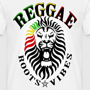 reggae roots vibes Tee shirts - T-shirt Homme