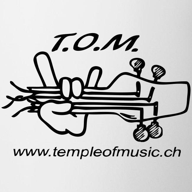 T.O.M. Tasse weiss