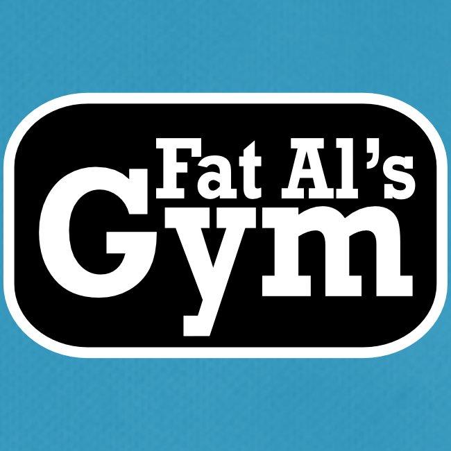 Gym vest large logo