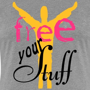 Free your stuff T-Shirts - Frauen Premium T-Shirt