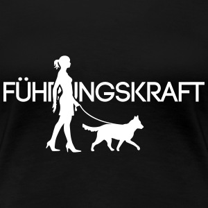 Führungskraft Medium Dog 1C T-Shirts - Frauen Premium T-Shirt