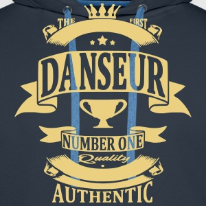 Danseur Sweat-shirts - Sweat-shirt à capuche Premium pour hommes