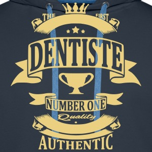 Dentiste Sweat-shirts - Sweat-shirt à capuche Premium pour hommes
