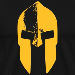 spartan warrior helm - Men's Premium T-Shirt