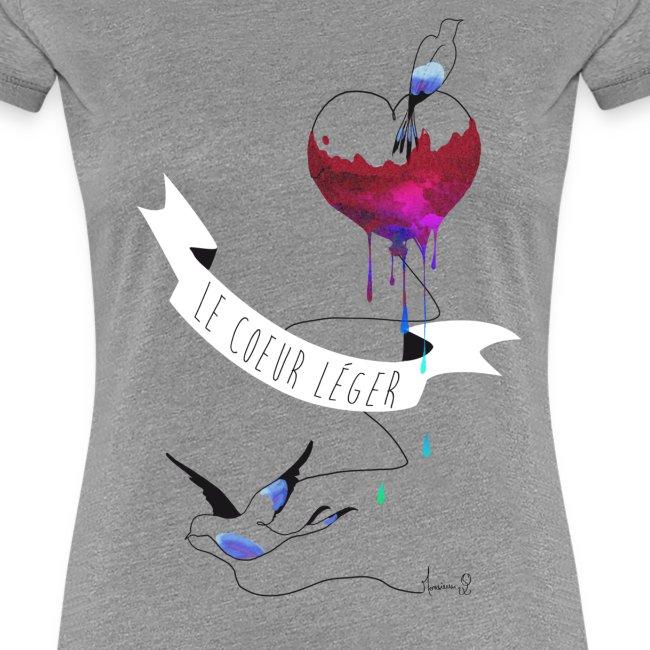Le coeur léger (T-shirt Femme)