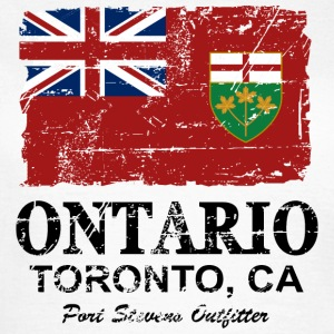 Ontario Flag - Canada - Vintage Look T-shirts - Vrouwen T-shirt