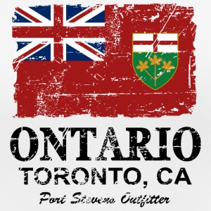 Ontario Flag - Canada - Vintage Look T-shirts - vrouwen T-shirt ademend