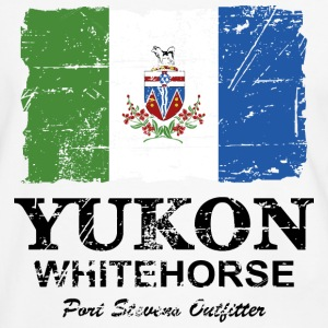 Yukon Flag - Canada - Vintage Look T-Shirts - Men's Ringer Shirt