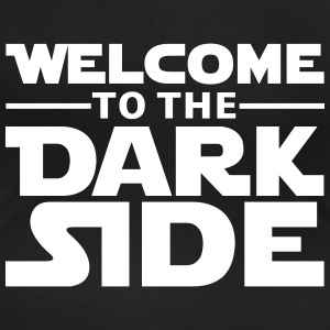 Welcome to the dark side Camisetas - Camiseta con escote redondo mujer