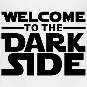 Welcome to the dark side T-shirts - Premium-T-shirt barn