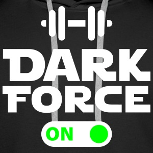 Dark force on Felpe - Felpa con cappuccio premium da uomo