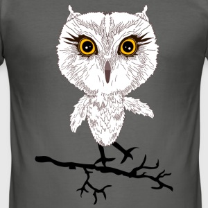 wise owl T-Shirts - Men's Slim Fit T-Shirt