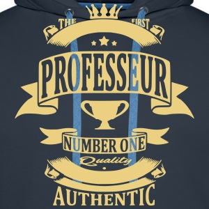 Professeur Sweat-shirts - Sweat-shirt à capuche Premium pour hommes