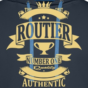 Routier Sweat-shirts - Sweat-shirt à capuche Premium pour hommes