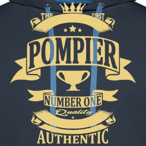 Pompier Sweat-shirts - Sweat-shirt à capuche Premium pour hommes
