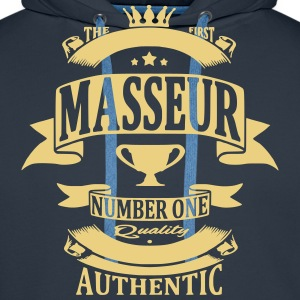 Masseur Sweat-shirts - Sweat-shirt à capuche Premium pour hommes