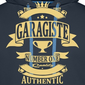 Garagiste Sweat-shirts - Sweat-shirt à capuche Premium pour hommes