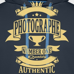 Photographe Sweat-shirts - Sweat-shirt à capuche Premium pour hommes