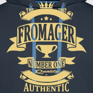 Fromager Sweat-shirts - Sweat-shirt à capuche Premium pour hommes