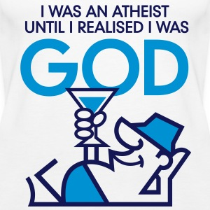 I was an atheist until I realized that I am God Tops - Women's Premium Tank Top