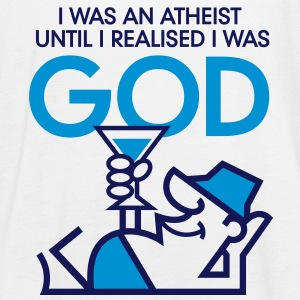 I was an atheist until I realized that I am God Tops - Women's Tank Top by Bella