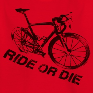 Ride or die vélo 2 Tee shirts - T-shirt Ado
