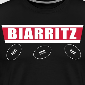 Biarritz rugby 2 Tee shirts - T-shirt Premium Homme