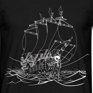 Galion-Pirate-NB Tee shirts - T-shirt Homme