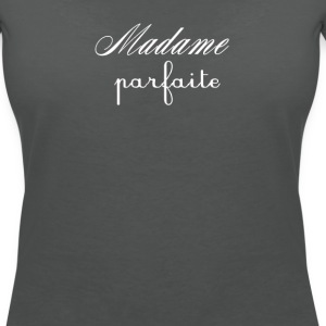 Madame Parfaite blanc T-Shirts - Women's V-Neck T-Shirt