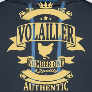 Volailler Sweat-shirts - Sweat-shirt à capuche Premium pour hommes