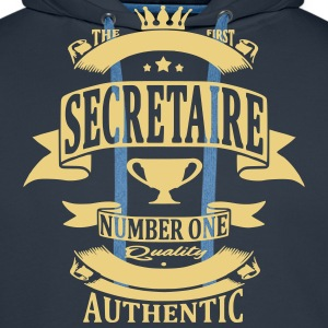 Secretaire Sweat-shirts - Sweat-shirt à capuche Premium pour hommes