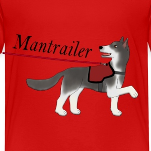 Mantra parter with leash Tee shirts - T-shirt Premium Enfant