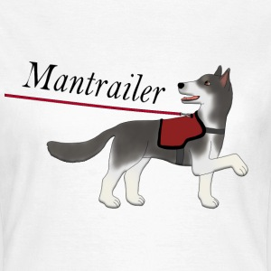 Mantra parter with leash T-shirts - Vrouwen T-shirt