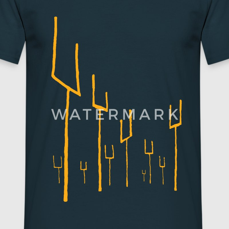 Origin of Symmetry Artwork - Men's T-Shirt