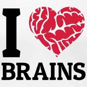 I love Brains T-Shirts - Frauen Premium T-Shirt