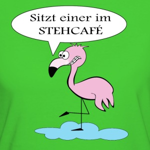Flamingo T-Shirts - Frauen Bio-T-Shirt