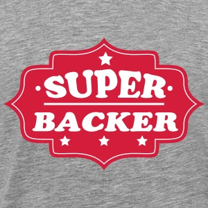 Super backer 111 T-shirts - Herre premium T-shirt