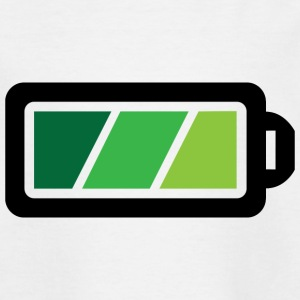 Battery charging status Shirts - Teenage T-shirt