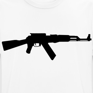 AK-47 assault rifle T-Shirts - Men's Breathable T-Shirt