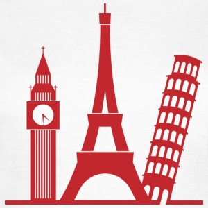Europa / London / Paris / Pisa T-Shirts - Frauen T-Shirt