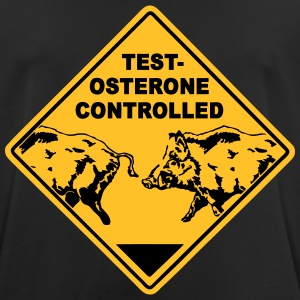 Testosterone controlled T-shirts - mannen T-shirt ademend