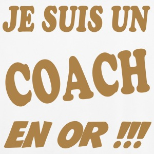 Je suis un coach en or !!! 111 T-Shirts - Men's Football Jersey